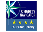 Charity navigator 4 star rated