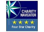 Charity navigator 4 star rated